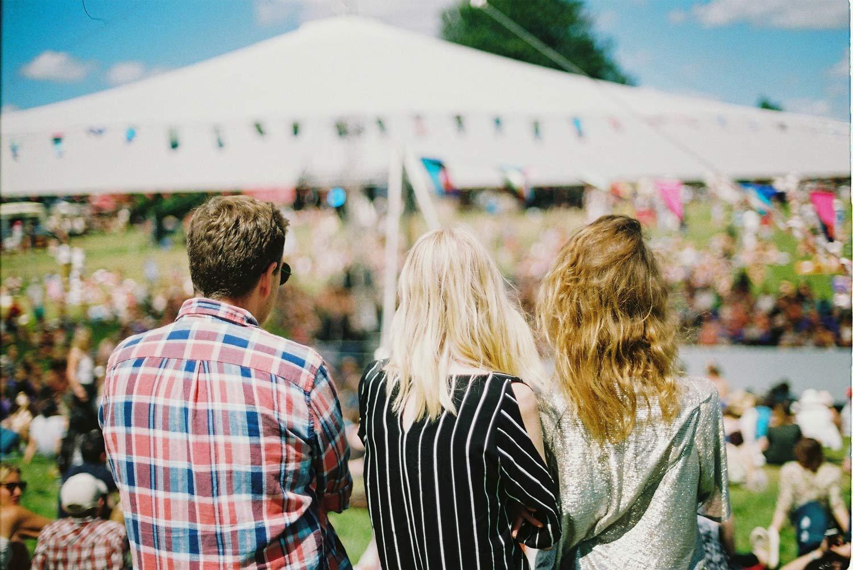 people-outside-festival