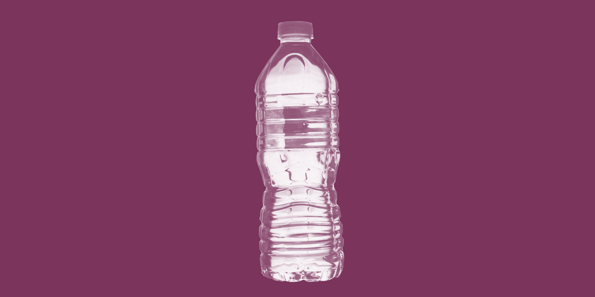 Water bottle. Alcohol is not good for you