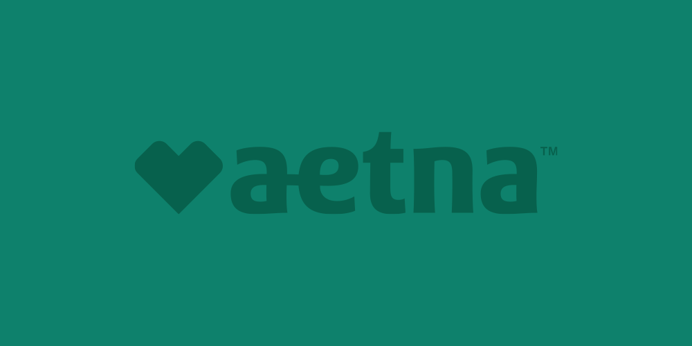 Logo for Aetna Inc. managed care company