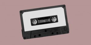 Audio cassette tape. Relapse is not the end