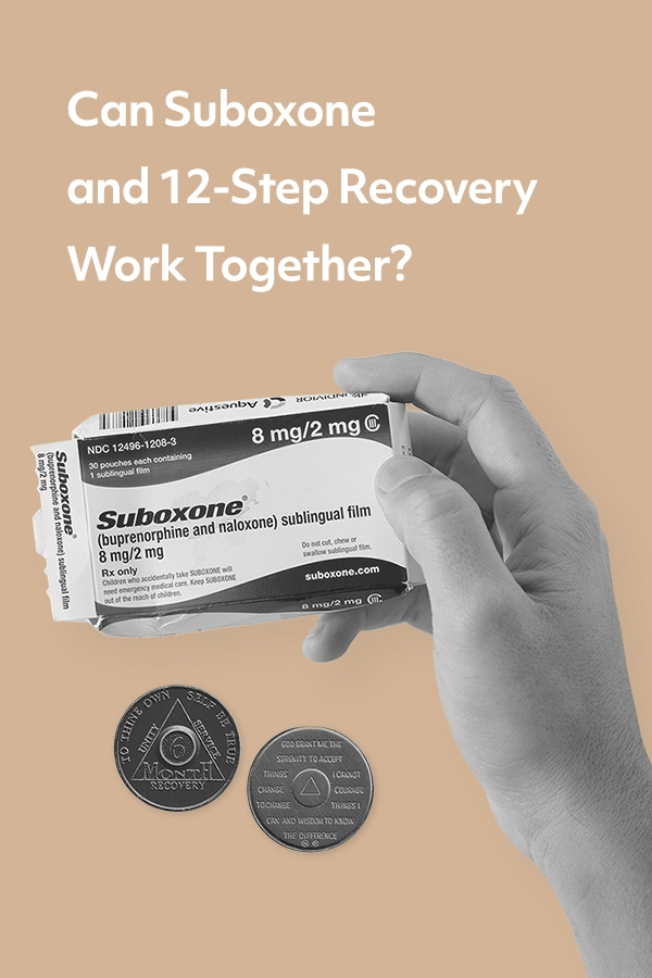 Can Suboxone and 12-Step recovery work together?