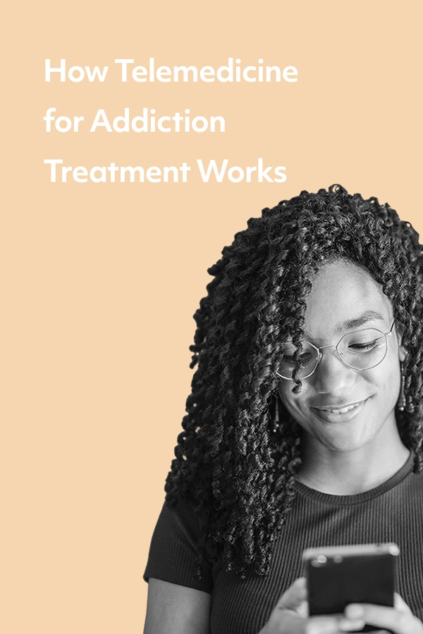 How telemedicine for addiction recovery works
