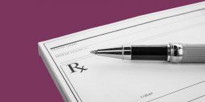 prescription pad. Medical treatment of opioid withdrawal symptoms