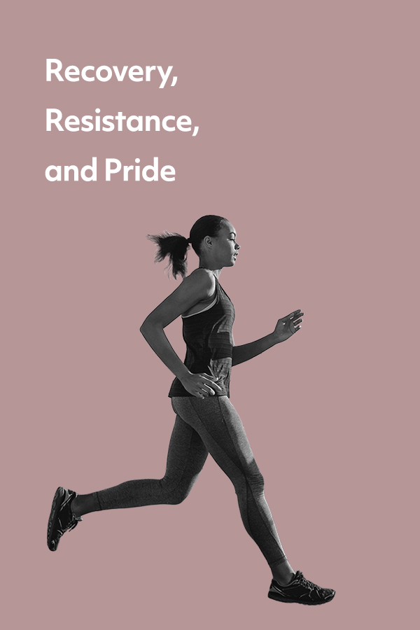 Inspiration learned from moving through discomfort in recovery, sexuality, and running marathons