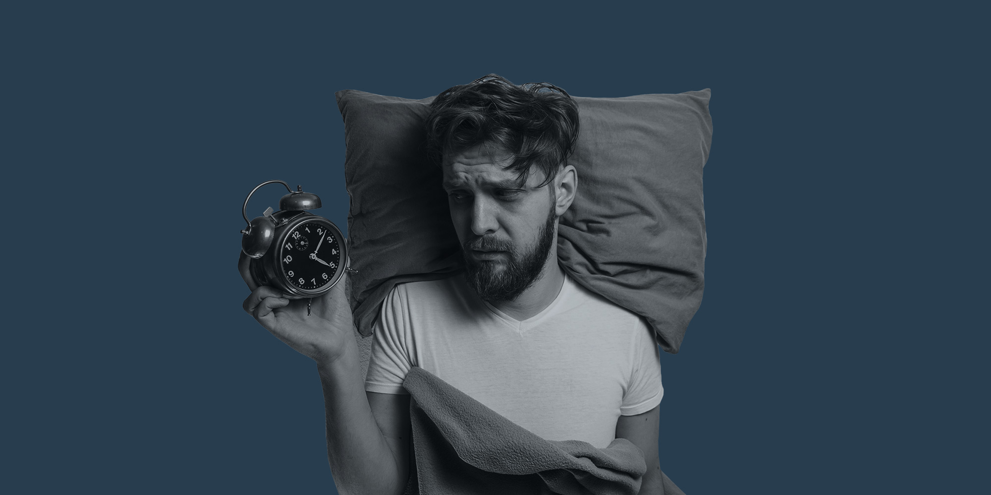 Does alcohol cause insomnia?