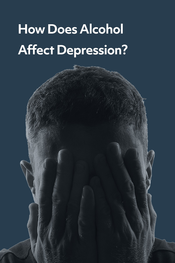 How does alcohol affect depression?