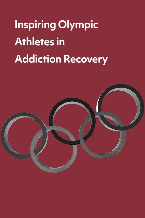 Ten Olympic athletes in addiction recovery who share openly about their struggles and triumphs