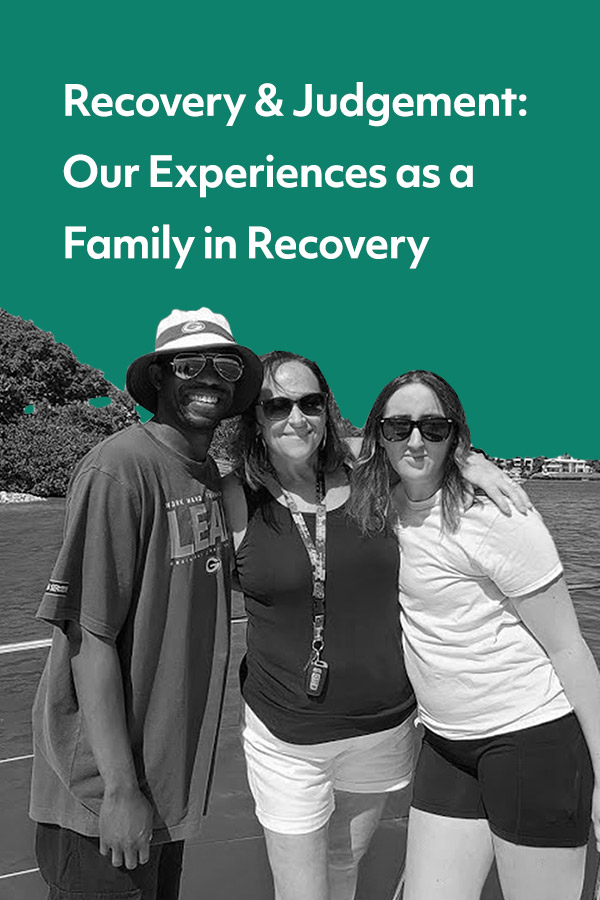 Becoming a family in recovery despite having very different backgrounds.